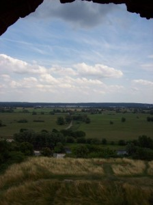 Blick aus Stolper Turm