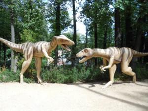 Dinos in Sachsen